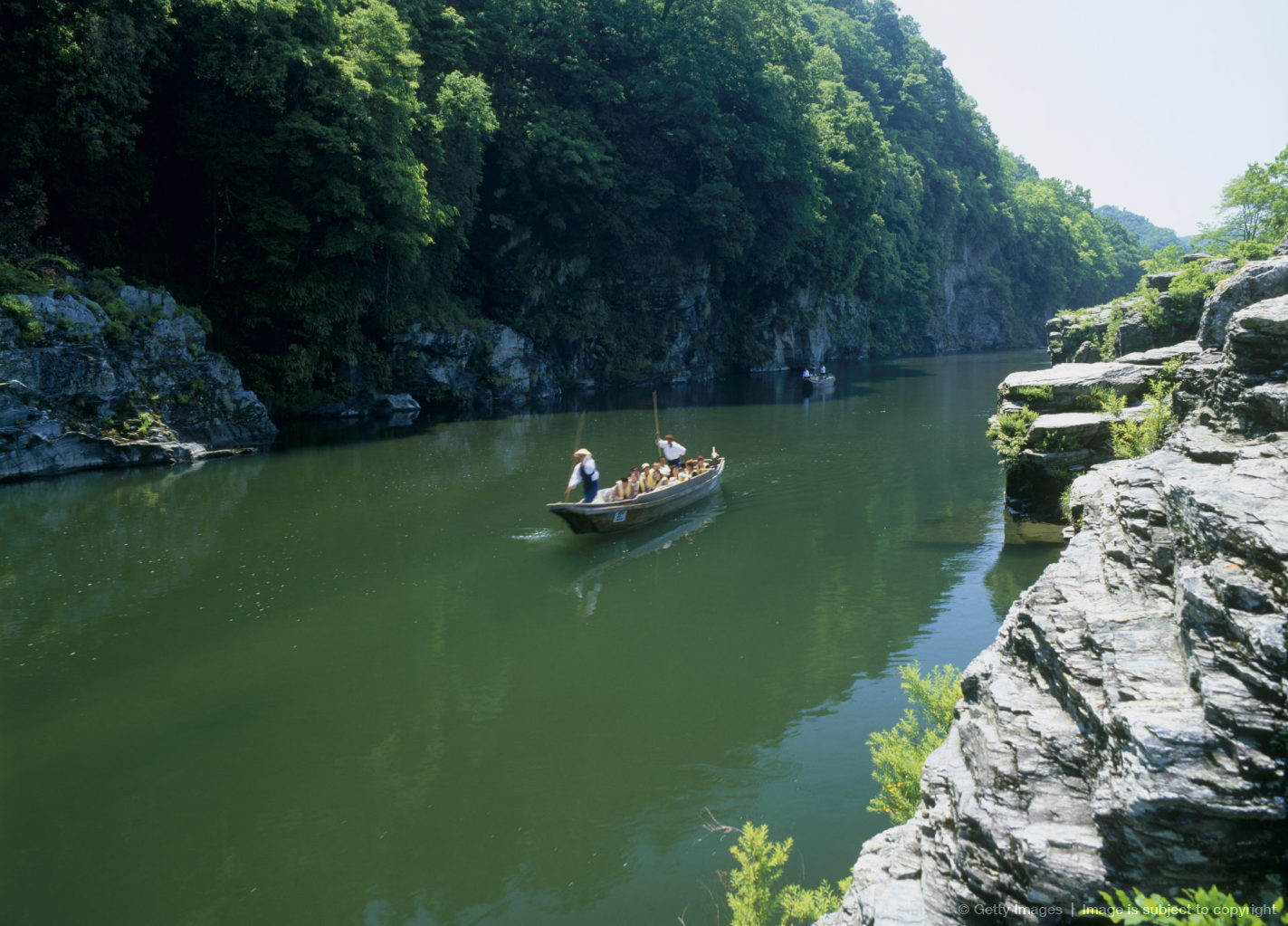 Nagatoro River Boating, Nagatoro, Saitama, Japan