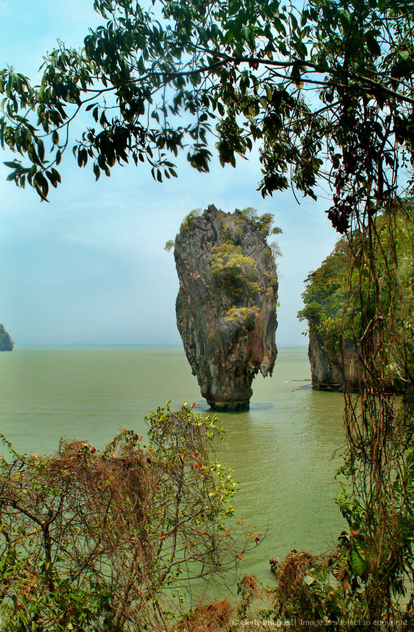 James bond island phang