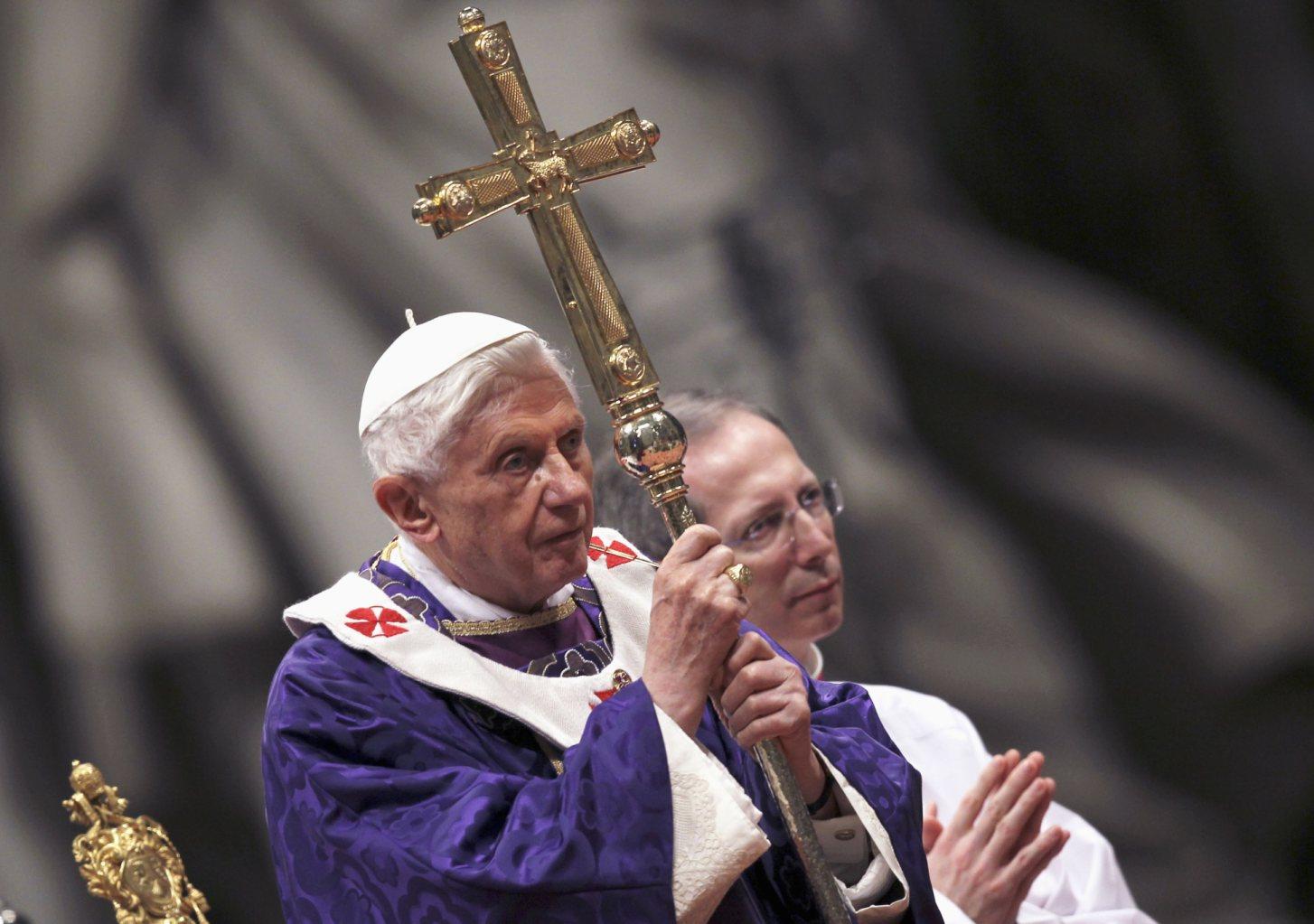 Risultati immagini per Benedetto XVI Ceneri