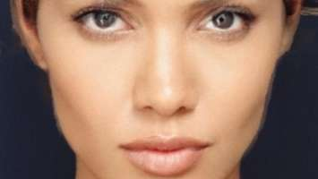 Angelina Jolie morphed with Halle Berry (University of Leicester)